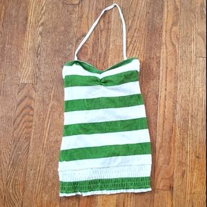 Energie Striped Convertible Tank / Tube Top, S